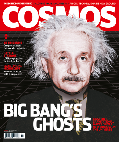 Front cover of Cosmos Magazine