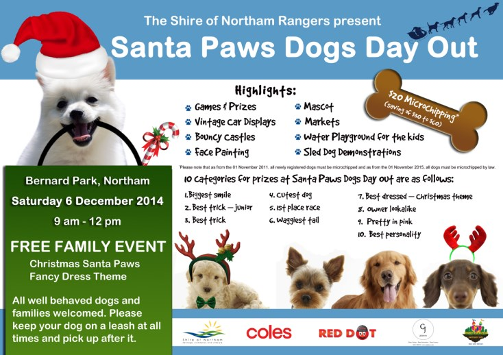 Santa Paws Dog's Day Out