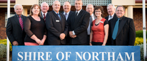 Shire of Northam staff
