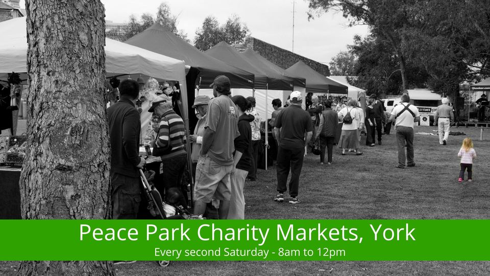 Peace Park Charity Markets, York