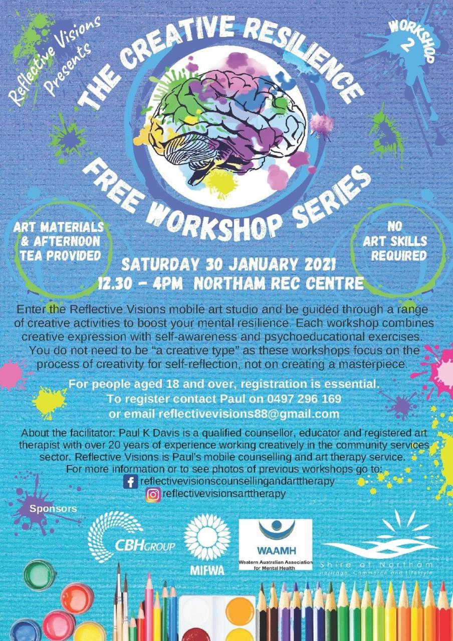 The Creative Resilience Free Workshop Series