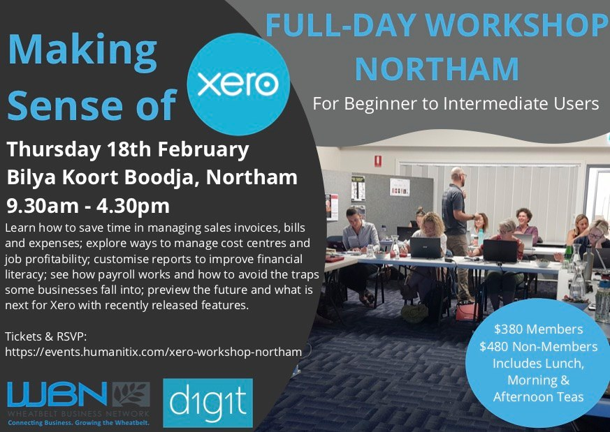 XERO Workshop - Northam