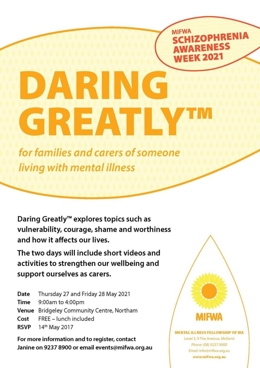 Daring Greatly™ for Families and Carers in Northam