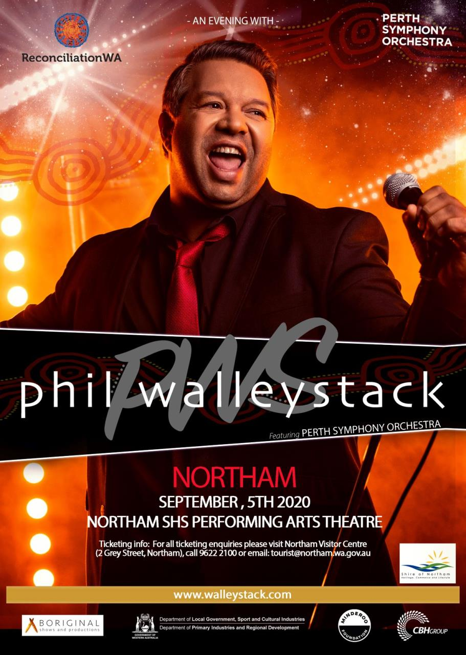 An Evening with Phil Walleystack featuring Perth Symphony Orchestra